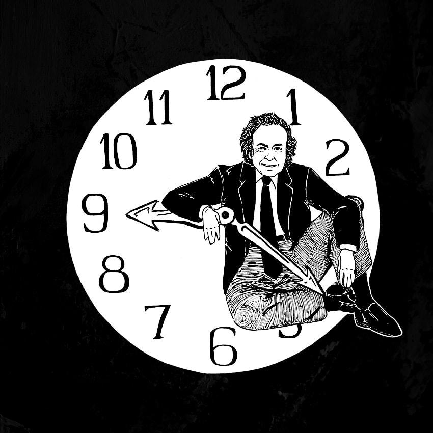 Richard Feynman Original Art