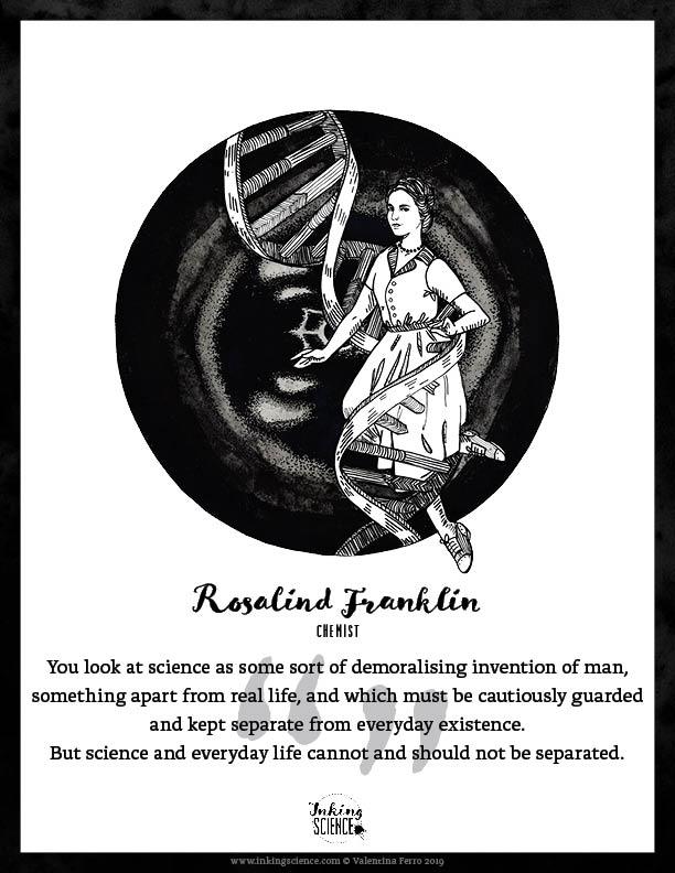 Rosalind Franklin Limited Edition Art Print