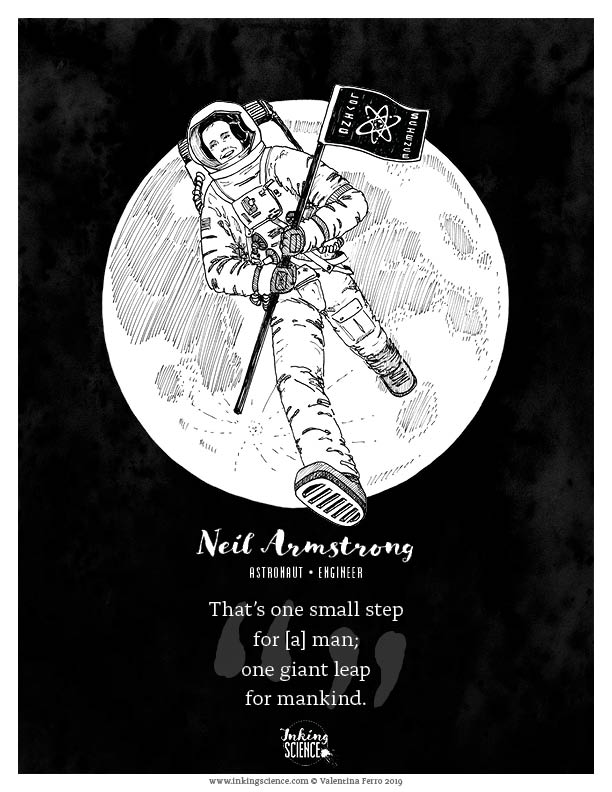 Neil Armstrong Limited Edition Art Print