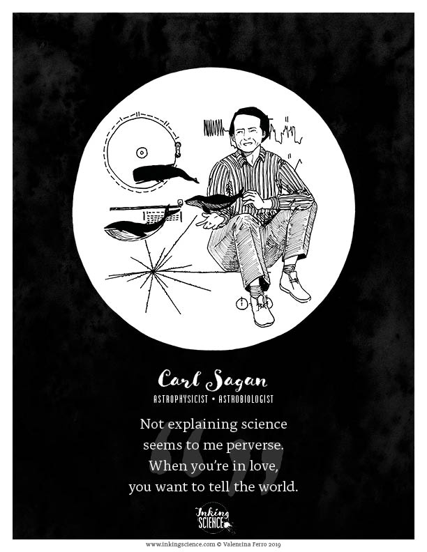 Carl Sagan Limited Edition Art Print